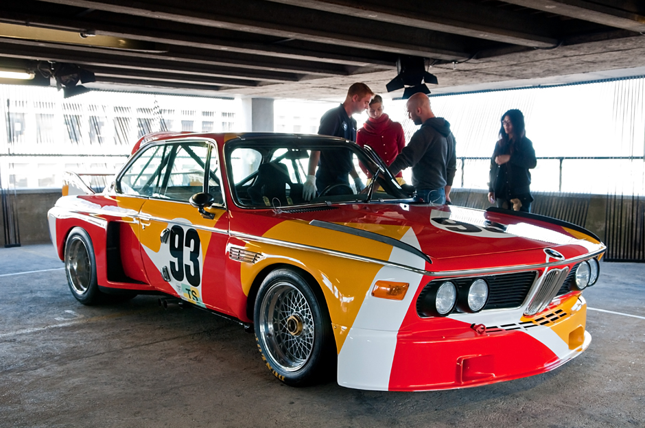 Alexander Calder BMW 3.0 CSL - the first BMW Art Car